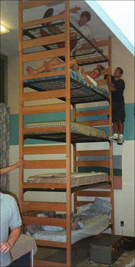 شاهدوا بالصور غرف نوم غريبة ومميزة جدا!