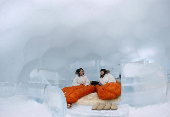 فندق الجليد اليابان