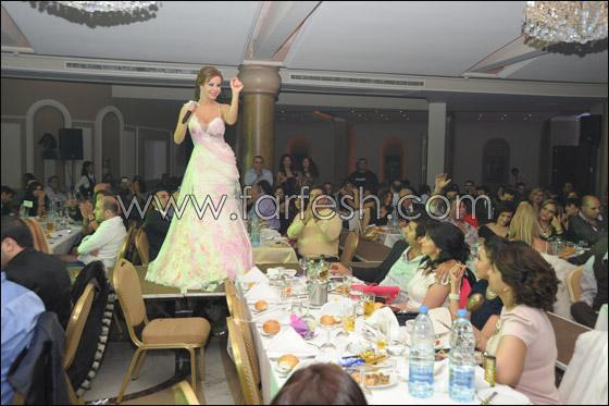 الفنانة رولا سعد تتألق في جبيل ليلة رأس السنة!