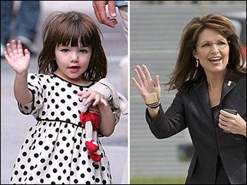 """ابنة توم كروز """"سوري"""" تتربع على عرش أناقة أطفال المشاهير"""