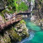 الضفة الغربية لجسر سلوفينيا