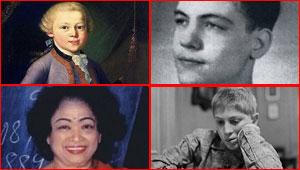 صور: تعرف على اذكى 10 اولاد عباقرة في التاريخ