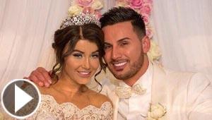 بعد سنة من زواجه الاسطوري.. اللبناني سليم مهاجر يعنف زوجته