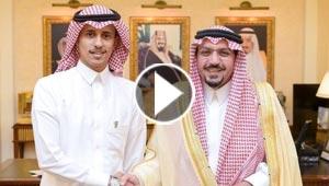 تكريم شاب سعودي قام بعمل بطولي في انقاذ طفل من الهلاك.. فيديو