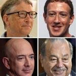 8 اثرياء يملكون ثروة تعادل ما يملكه 3.6 مليارد انسان على وجه الارض