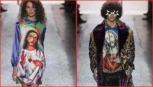 صور السيد المسيح تزيّن أزياء مصمم عالمي وتثير ضجة كبيرة