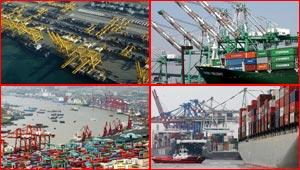 صور اكبر موانئ العالم.. بينها ميناء عربي واحد!