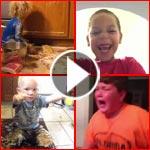 فيديو وصور.. اطفال مشاغبون يسببون المتاعب والحرج لوالديهم