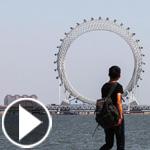 الصين تفتتح دولاب الهواء السياحي الضخم مزود بتلفاز وشبكة واي فاي