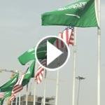 ما سر رفرفة العلم السعودي اكثر من الامريكي في شوارع الرياض؟!
