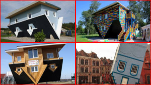 صور لأشهر المنازل المقلوبة في العالم