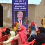 قصة غريبة.. قرية مارورا الهندية تغير اسمها لتصبح قرية ترامب!! صور