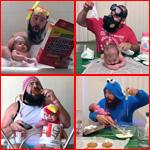 صور مدهشة بطلها اب مع طفلته الرضيعة تشعل مواقع التواصل