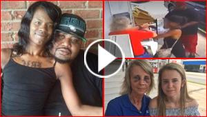بالفيديو.. زوجان يعتديان بالضرب على سيدة وابنتها بسبب وجبة
