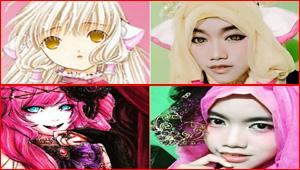 مصممة أزياء إندونيسية تستخدم الحجاب على شخصيات كرتونية