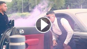 اسطول من السيارات الفارهة في احتفال باذخ بتخرج طالب ثانوي! فيديو
