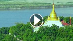 ميانمار: شؤم عام بعد ابتلاع نهر لأحد أشهر معابدها البوذية