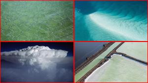 الارض من نافذة الطائرة مصدر الهام وعلاج للخوف من الطيران! صور