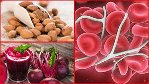 هذه المجموعة من الاطعمة ترفع من مستوى الهيموغلوبين في الدم