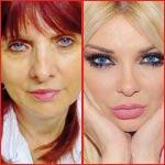 صور ميريام كلينك ووالدتها الصربية: فولة وانشقت نصفين!