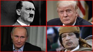 مشاهير عانوا  من أمراض نفسية بينهم هتلر، القذافي، بوتين وترامب