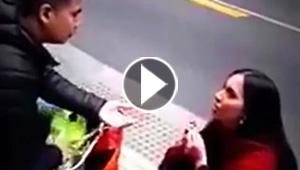 فرفش يكشف سر فيديو فتاة تعرض الزواج على صديقها في الشارع فيهرب منها!
