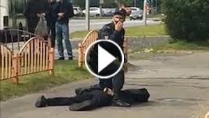 روسيا: إصابة 8 أشخاص في حادث طعن بسكين وسط مدينة سورغوت