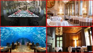 بالصور.. جولة الى أفخم وأغلى المطاعم في العالم