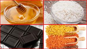 العسل والأرز والشوكولاتة والخل اغذية لا تفسد حتى نهاية العالم