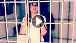 فيديو حليمة بولند تبكي في السجن (انا مظلومة) والجمهور: (مريضة نفسيا)!