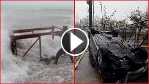 الإعصار ماريا يجتاح بورتوريكو والكاريبي فدمر المباني وقطع الكهرباء والجزيرة تستنجد!