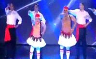 فيديو مواهب  عائلة ستابورز في رقصة فريدة