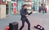 فيديو مواهب  عازف موسيقى رائع