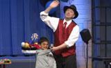 عرض سحري عائلي أمام الجمهور