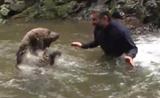 الصداقة بين الانسان والحيوان