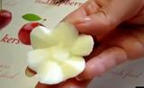 الفن في الطعام ..الابداع في الطبخ..عمل ورده من البيض
