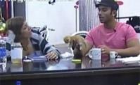 محمد يطعم القطط