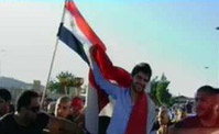 استقبال ناصيف زيتون في سوريا