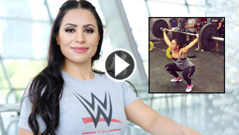 اول امرأة عربية.. اردنية  تقتحم عالم المصارعة الحرة الترفيهية
