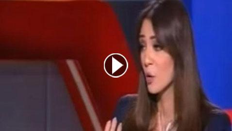 فيديو مشادة بين مذيعة مصرية وضيف قال لها: أسئلتك غير ناضجة